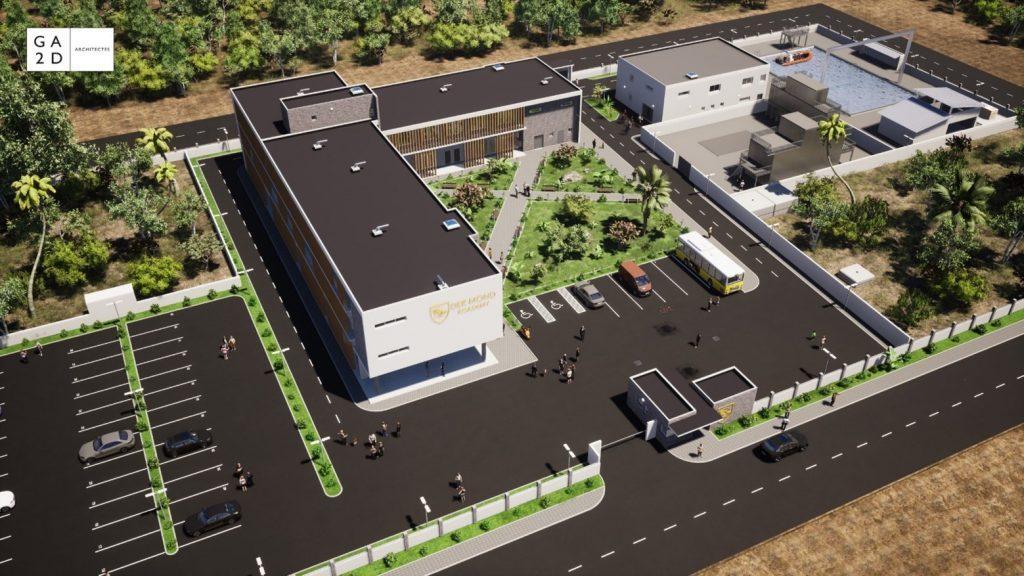 futur centre de formation Der Mond Academy
